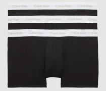 3er-Pack Plus-Size Hüft-Shorts - Cotton Stretch
