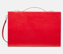 Luxus-Aktentasche aus Leder