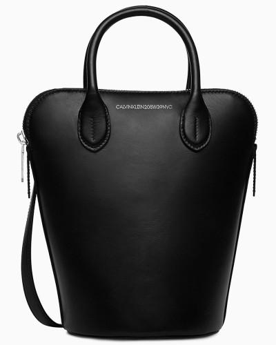 Kleine Bucket-Bag aus Nappaleder