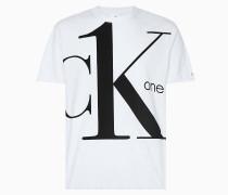 Logo-T-Shirt aus Bio-Baumwolle - CK ONE