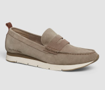 Loafers aus Wildleder