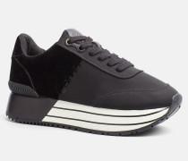 Sneakers aus Nylon-Twill