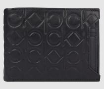 Leder-Portemonnaie mit RFID-Schutz