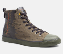 High Top Sneakers aus Canvas