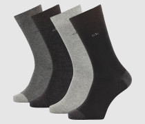4er-Pack Knöchelsocken