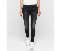 Mid-Rise Skinny-Ankle-Jeans