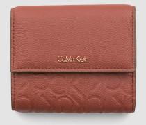 Mittelgroßes dreifach faltbares Portemonnaie