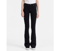 High-Rise Sculpted Slim Bootcut-Jeans