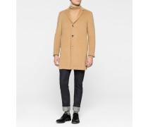 Mantel aus Wolle-Kaschmirgemisch