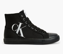 High Top Sneakers aus recyceltem Polyester