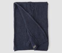 Zopfstrick-Schal
