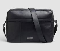 Messenger-Bag aus Leder