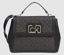 Handtasche mit Logo-Jacquardmuster