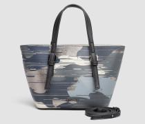 Kleine bedruckte Tasche-in-Tasche Tote-Bag