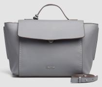 Leder-Satchel-Bag mit Tragegriff