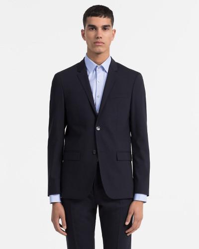 Taillierter Woll-Stretch-Blazer