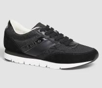 Sneakers aus Wildleder und Jacquard
