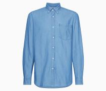 Button-Down-Hemd aus Denim