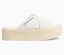 Sandalen aus Wildleder