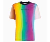 Regenbogen-T-Shirt aus Bio-Baumwolle