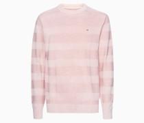 Pullover mit strukturiertem Streifenmuster