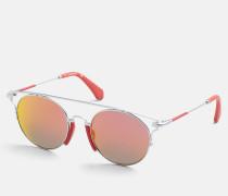 Runde Sonnenbrille CKJ167S