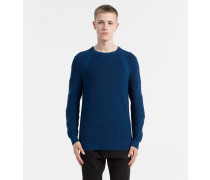 Strukturierter Strick-Pullover