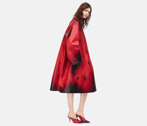 Oversized Couture-Mantel aus Leder