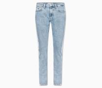 CKJ 058 Slim Tapered Cropped Jeans