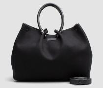 Tasche-in-Tasche Tote-Bag aus Wolle
