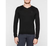 Pullover aus Seiden-Mix