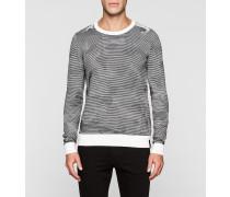 Camo-strukturierter Pullover