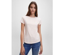 Slim T-Shirt aus Bio-Baumwolle