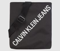 Flache Mikro-Crossbody Bag aus recyceltem Nylon