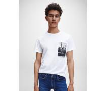 T-Shirt mit New York-Foto-Print
