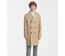 Mantel aus Techno-Baumwolltwill