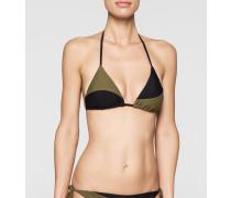 Triangel-Bikini-Oberteil - Core Color Block