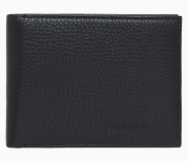 Falt-Portemonnaie aus Leder
