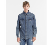 Denim Western Shirt