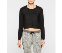 Pullover aus beschichteter Baumwolle