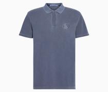 Besticktes Logo-Poloshirt