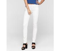 Mid-Rise Slim-Jeans