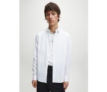 Slim Fit Hemd aus Stretch-Baumwolle
