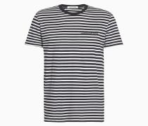 Gestreiftes Slim Fit T-Shirt aus Bio-Baumwolle