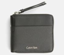 Kleines Portemonnaie mit Rundum-Reißverschluss