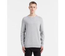 Sweater mit Logoprägung