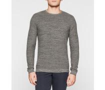 Melange-Pullover