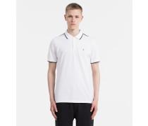 Tailliertes Poloshirt aus Pima-Baumwolle