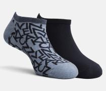 2er-Pack No-Show-Socken