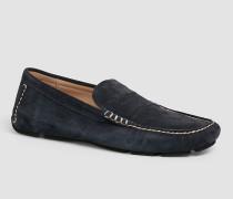 Loafers aus Wildleder